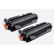 TonerGreen Q7551A 51A Black Compatible Printer Toner Cartridge Value Pack 2X